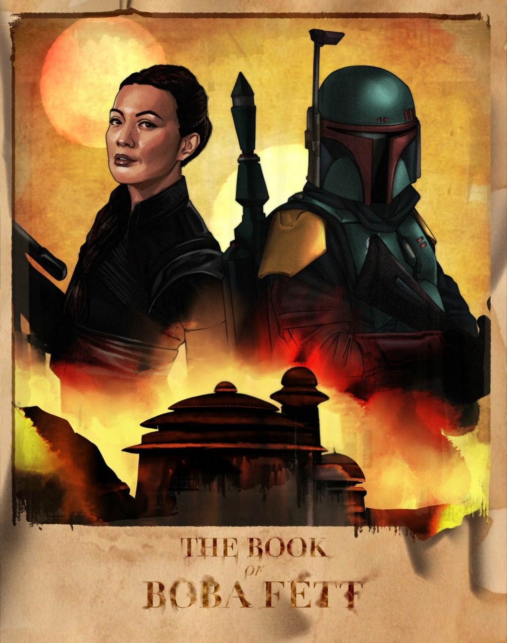 Star Wars The Book of Boba Fett : Fan Art Poste116