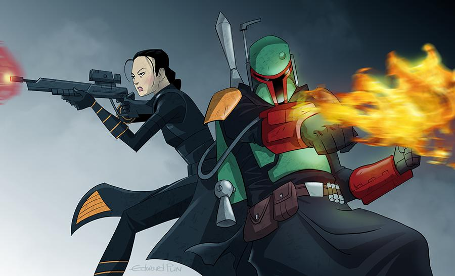 Star Wars The Book of Boba Fett : Fan Art Poste117