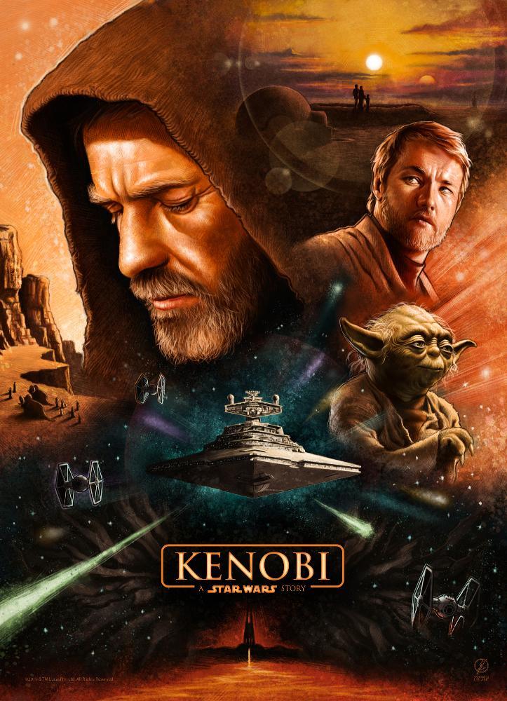 Star Wars Obi Wan Kenobi : Trailer Poster Vidéo FanMade Poste119