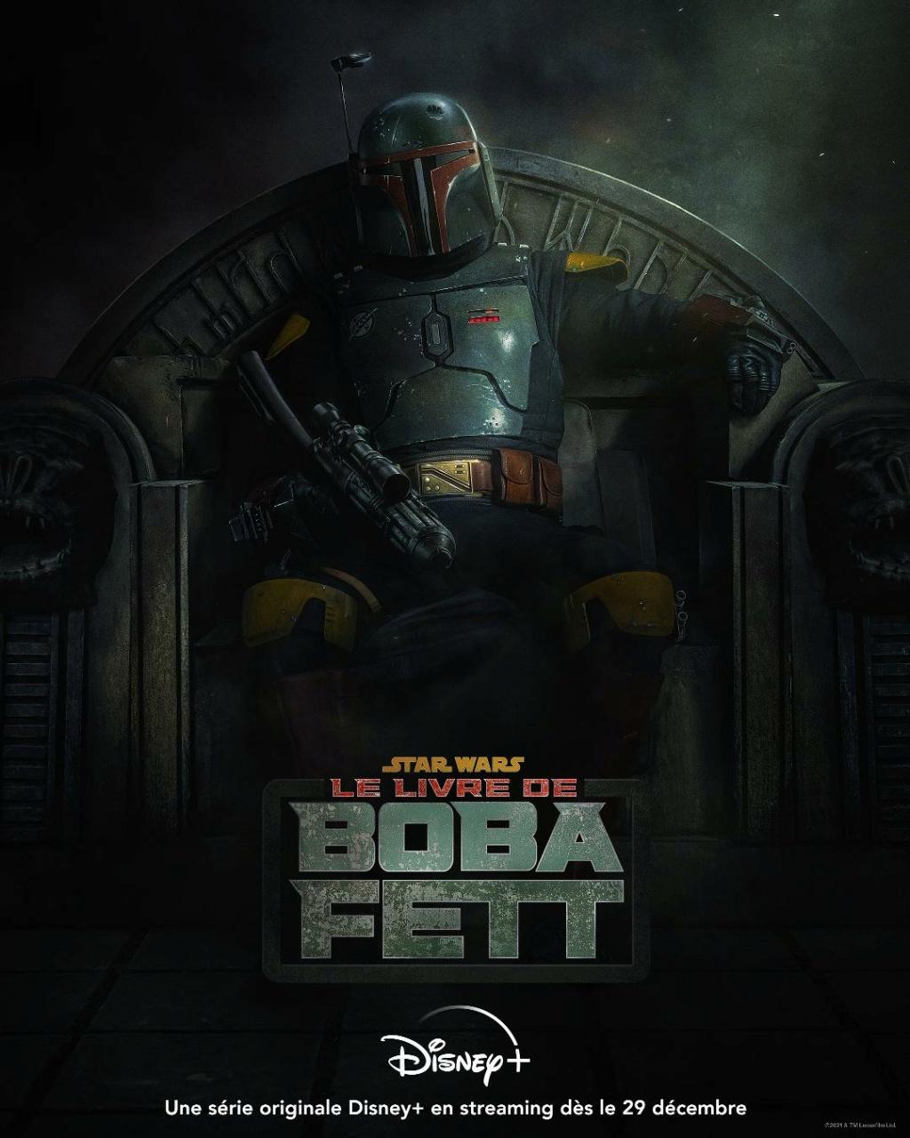 Star Wars The Book Of Boba Fett : Les NOUVELLES de la série Poste127