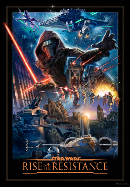 Star Wars Rise of the Resistance - Star Wars: Galaxy's Edge Poster14