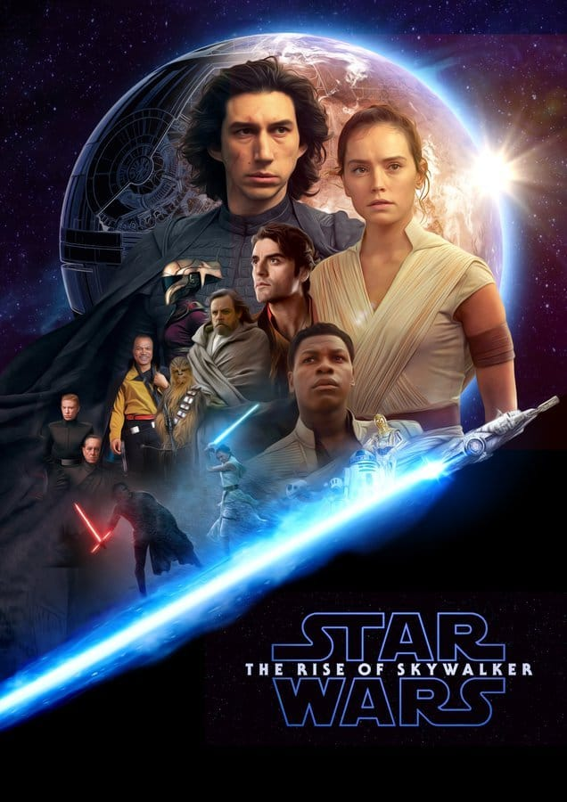 9 - Teaser Trailer Poster Video FanMade Star Wars 9 Poster15