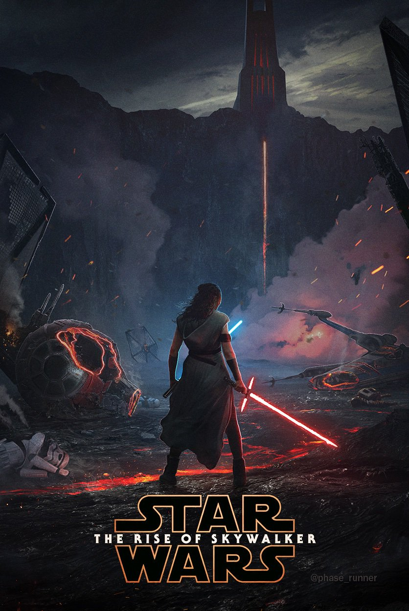 9 - Teaser Trailer Poster Video FanMade Star Wars 9 Poster16