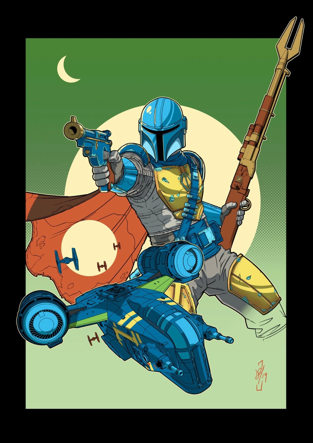 Teaser Poster Video FanMade Star Wars The Mandalorian Poster21