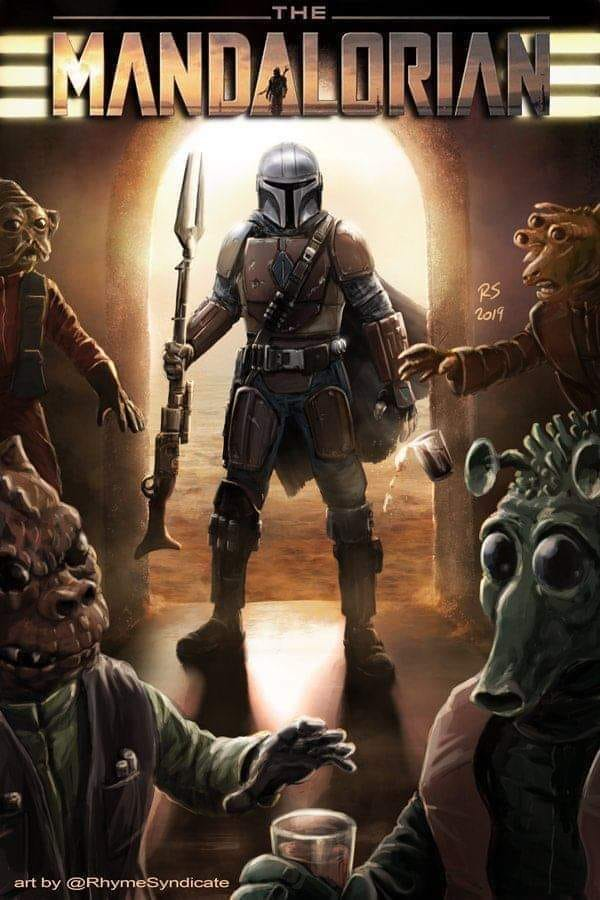 Teaser Poster Video FanMade Star Wars The Mandalorian Poster23