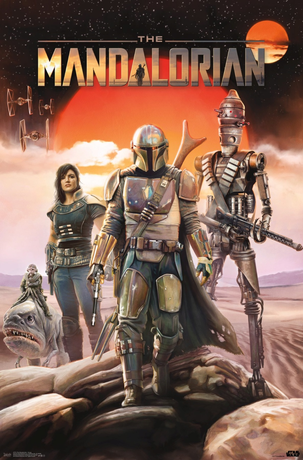 Les NEWS de la série Star Wars The Mandalorian - Page 3 Poster25