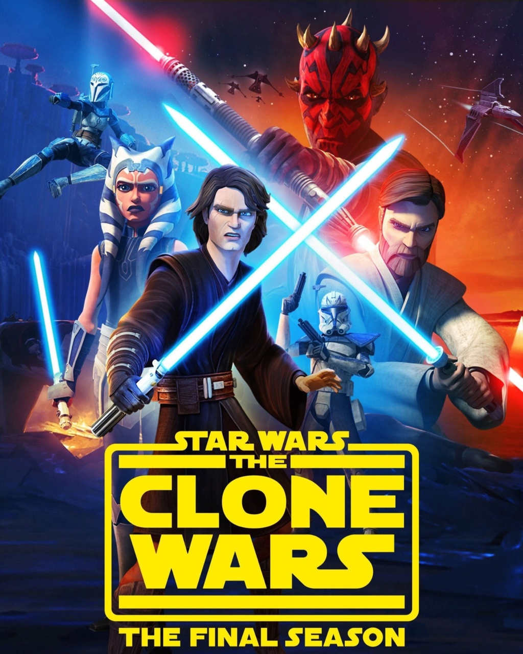 STAR WARS THE CLONE WARS - NEWS - NOUVELLE SAISON - DVD [3] - Page 5 Poster75
