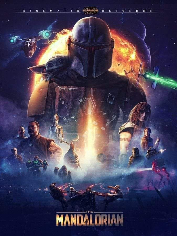 Teaser Poster Video FanMade Star Wars The Mandalorian Poster76