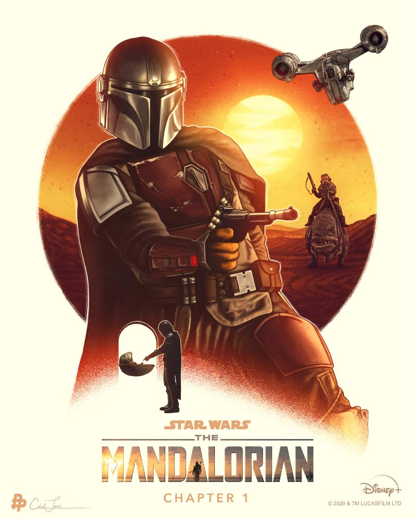 Teaser Poster Video FanMade Star Wars The Mandalorian Poster77
