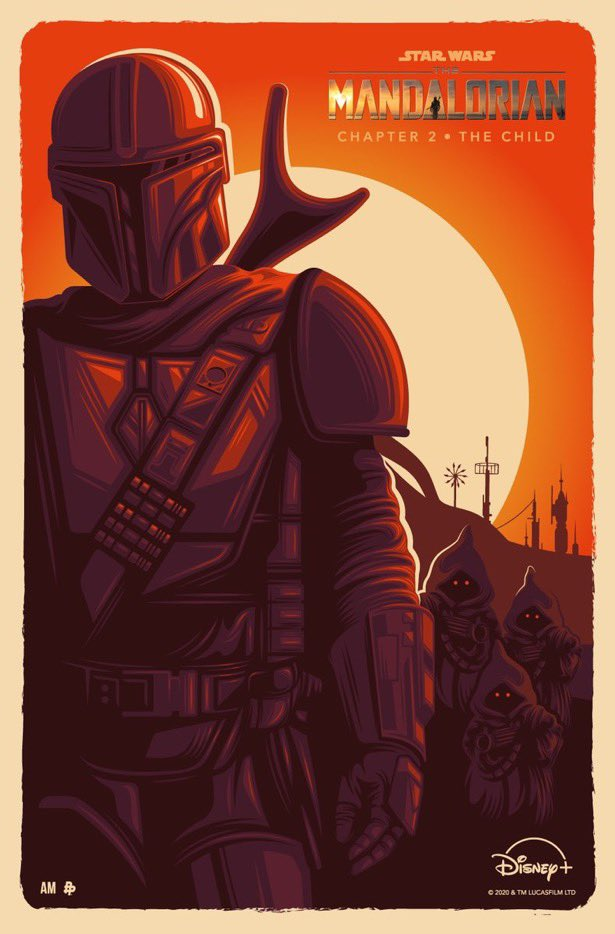 Teaser Poster Video FanMade Star Wars The Mandalorian Poster78