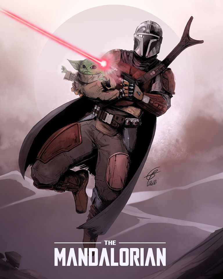 Teaser Poster Video FanMade Star Wars The Mandalorian Poster79