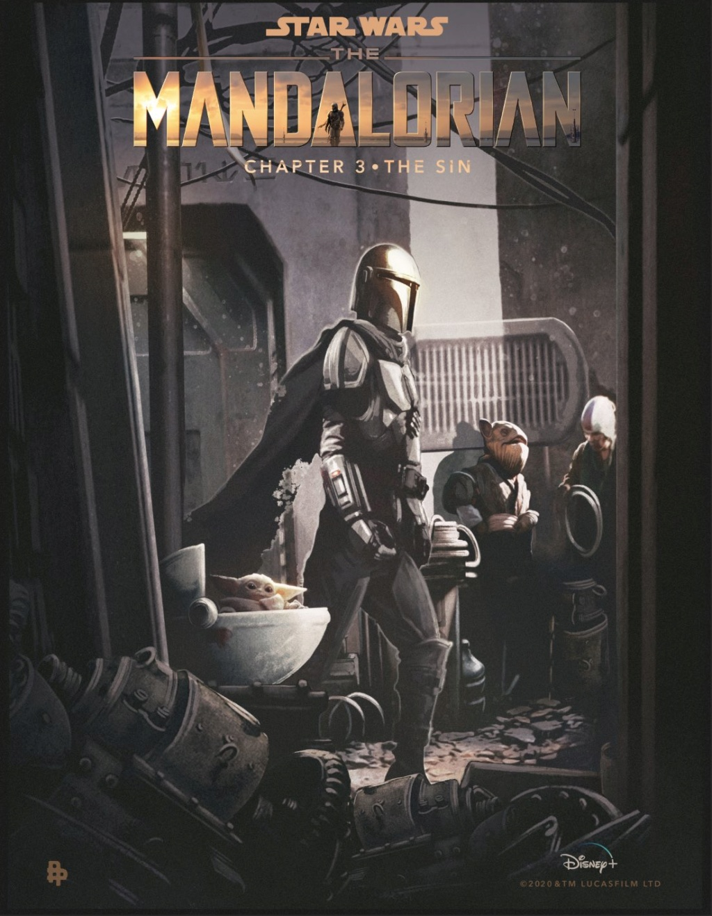 Teaser Poster Video FanMade Star Wars The Mandalorian Poster80