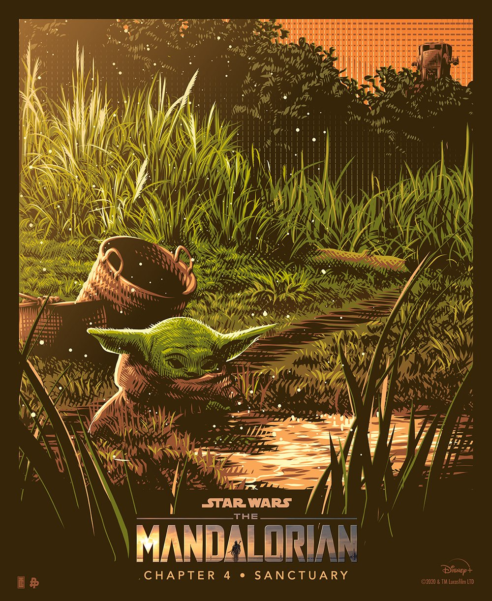 Teaser Poster Video FanMade Star Wars The Mandalorian Poster81