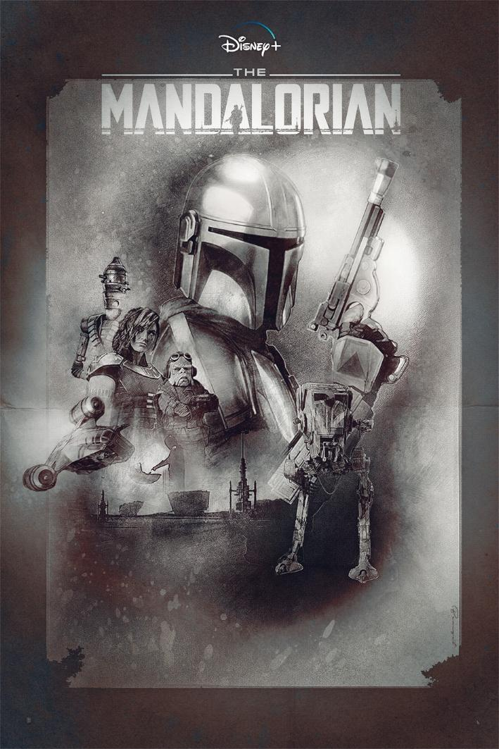 Teaser Poster Video FanMade Star Wars The Mandalorian Poster83