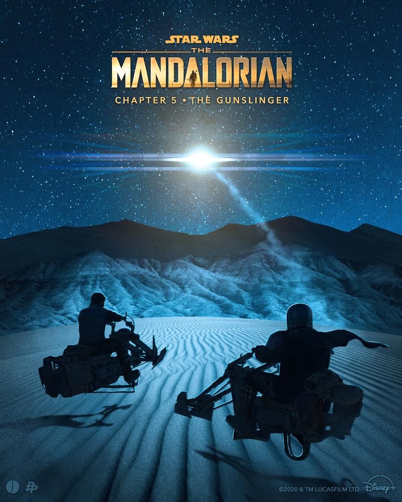 Teaser Poster Video FanMade Star Wars The Mandalorian Poster84
