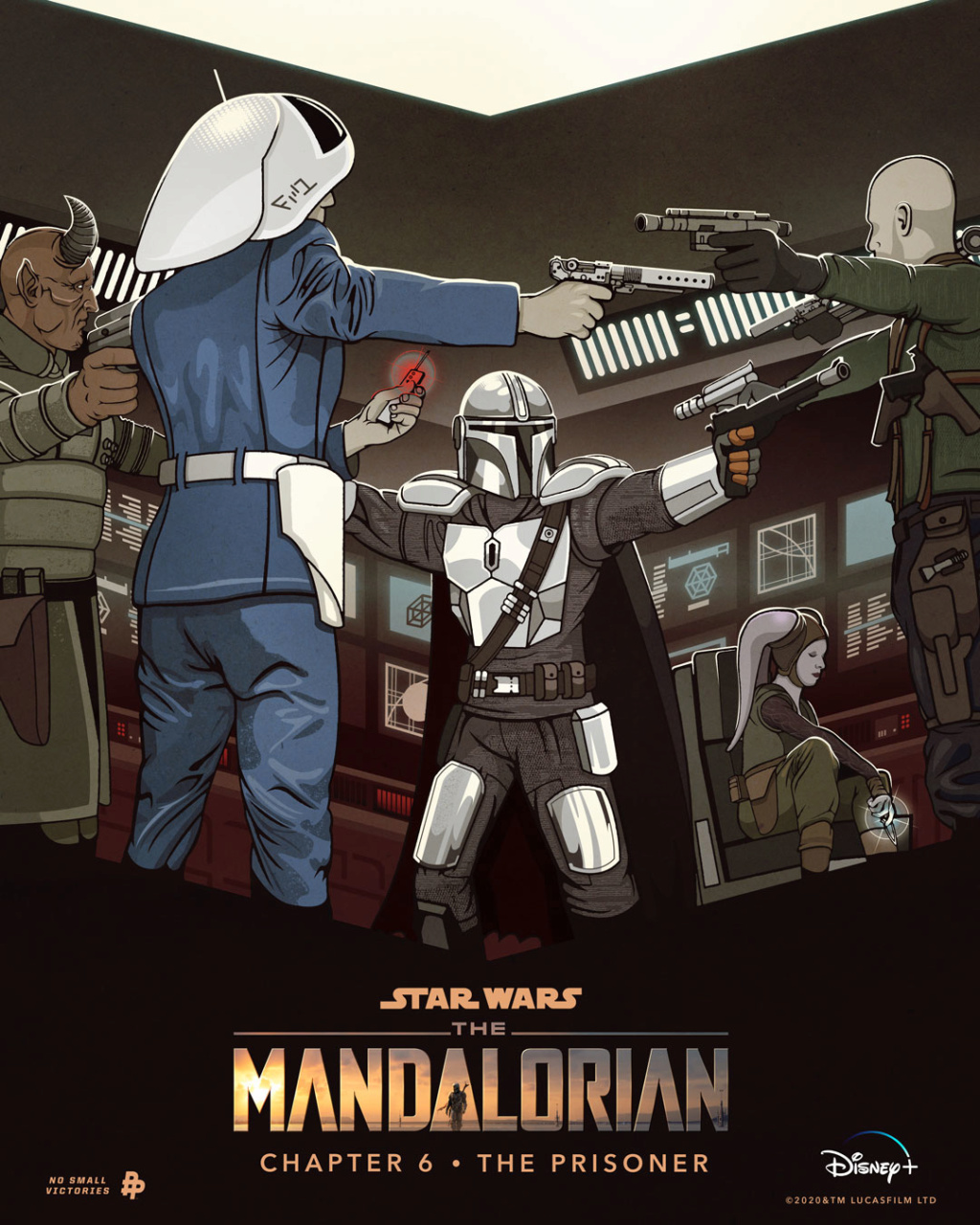 Teaser Poster Video FanMade Star Wars The Mandalorian Poster85