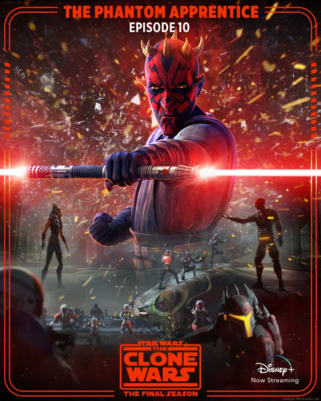STAR WARS THE CLONE WARS - NEWS - NOUVELLE SAISON - DVD [3] - Page 6 Poster86