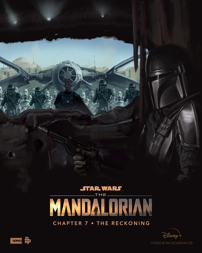 Teaser Poster Video FanMade Star Wars The Mandalorian Poster87
