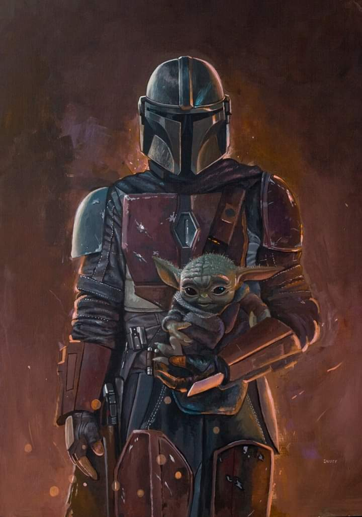 Teaser Poster Video FanMade Star Wars The Mandalorian Poster88