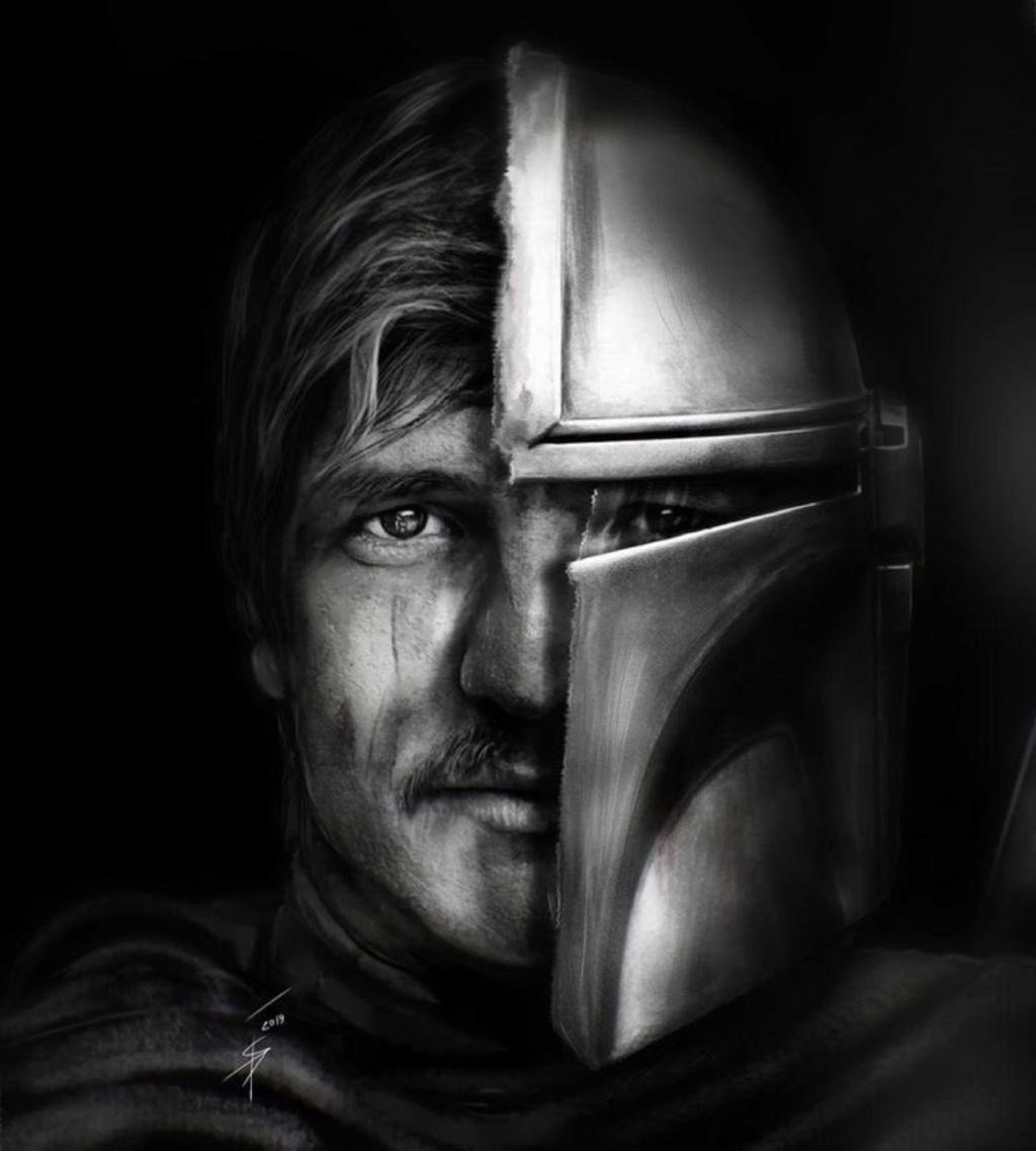 Teaser Poster Video FanMade Star Wars The Mandalorian Poster89