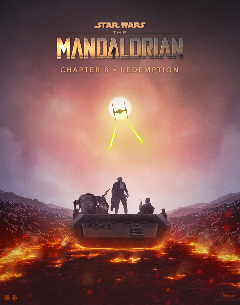Teaser Poster Video FanMade Star Wars The Mandalorian Poster90