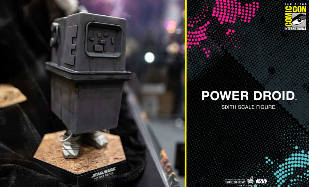 Power Droid Sixth Scale Figure - Hot Toys Star Wars Powerd10