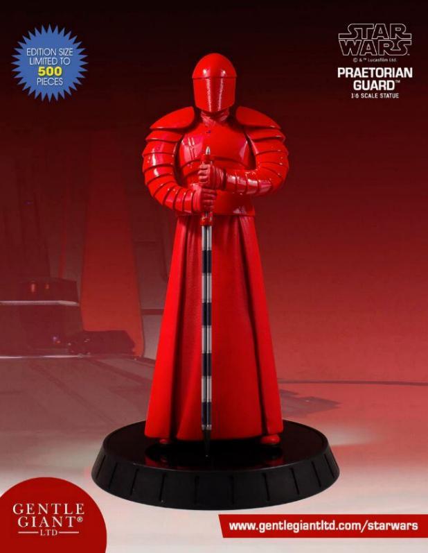 Gentle Giant - StarWars PRAETORIAN GUARD 1/6th scale statue  Preato10