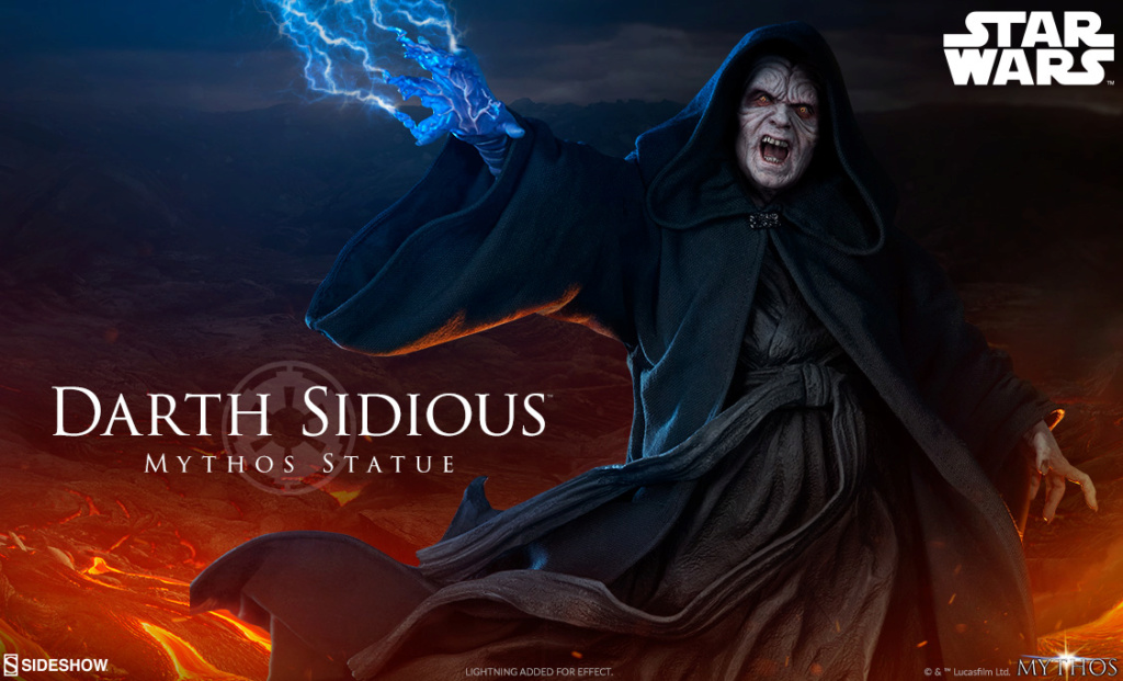 Darth Sidious Mythos Statue - Sideshow Collectibles Previe13