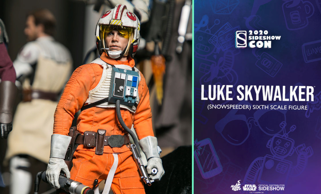 Luke Skywalker (Snowspeeder) Sixth Scale Figure – Hot Toys Previe14