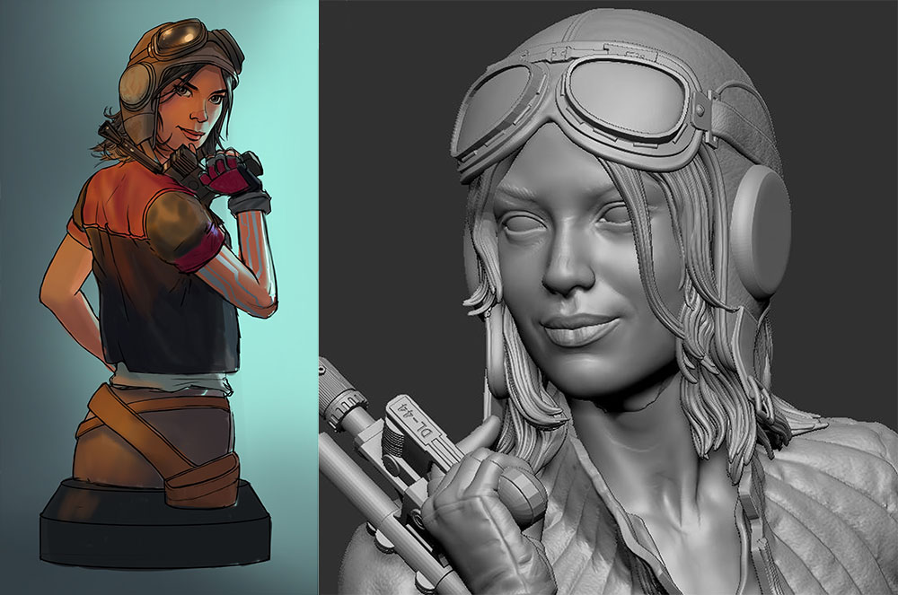 Doc Aphra Bust - Gentle Giant Previe17