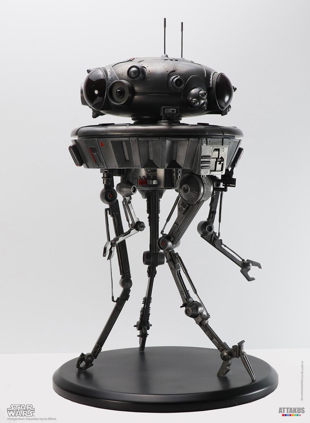 Probe Droid Statue Star Wars Elite Collection 1/10 - ATTAKUS Prode_10