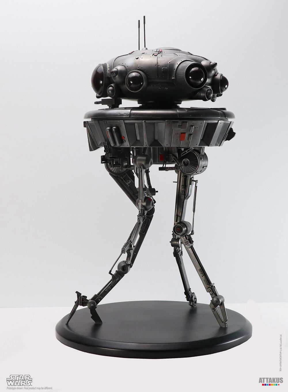 Probe Droid Statue Star Wars Elite Collection 1/10 - ATTAKUS Prode_12