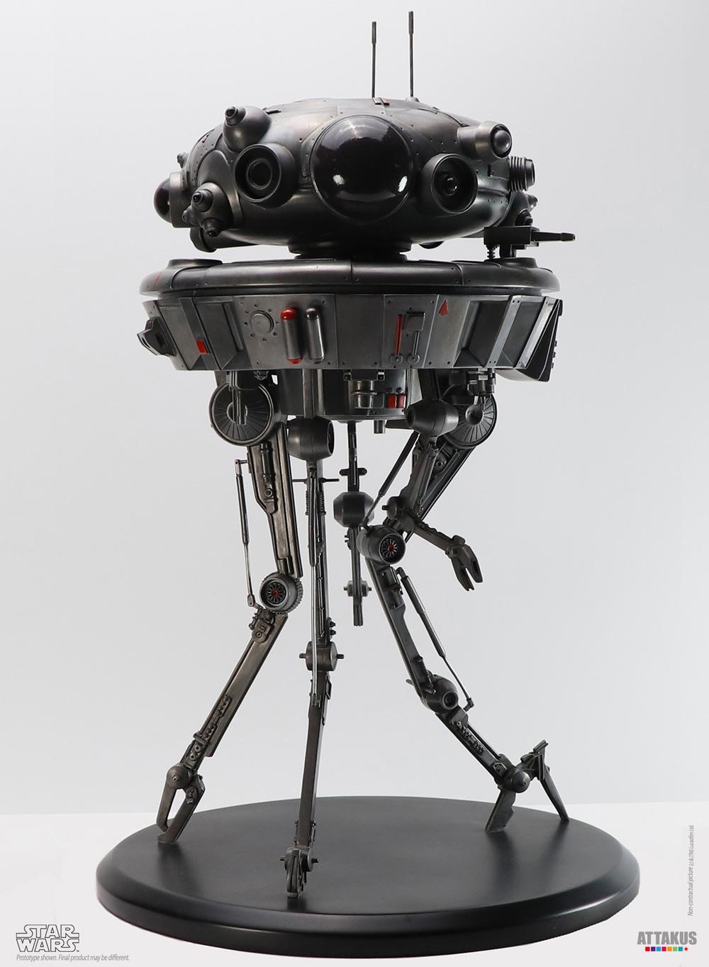 Probe Droid Statue Star Wars Elite Collection 1/10 - ATTAKUS Prode_13