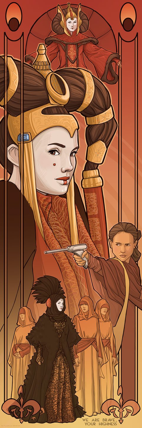 Queen Amidala - Star Wars - ACME Archives Queen_11