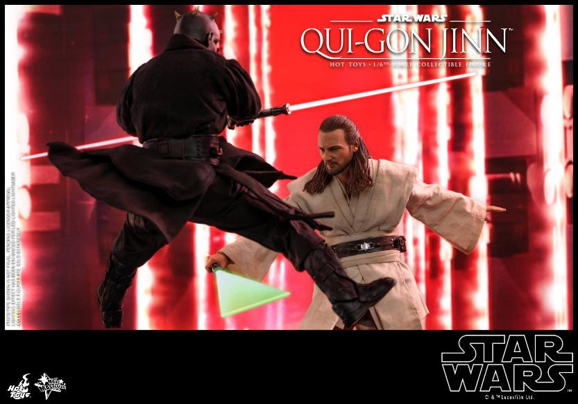 SW Episode I 1/6th Qui-Gon Jinn Collectible Figure HOT TOYS Qui-go22