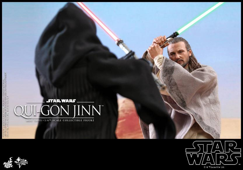 SW Episode I 1/6th Qui-Gon Jinn Collectible Figure HOT TOYS Qui-go24
