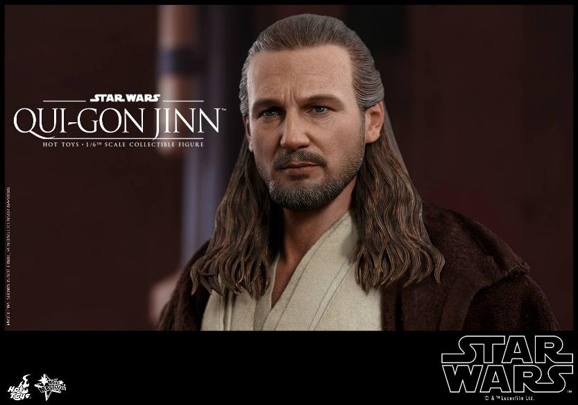 SW Episode I 1/6th Qui-Gon Jinn Collectible Figure HOT TOYS Qui-go26