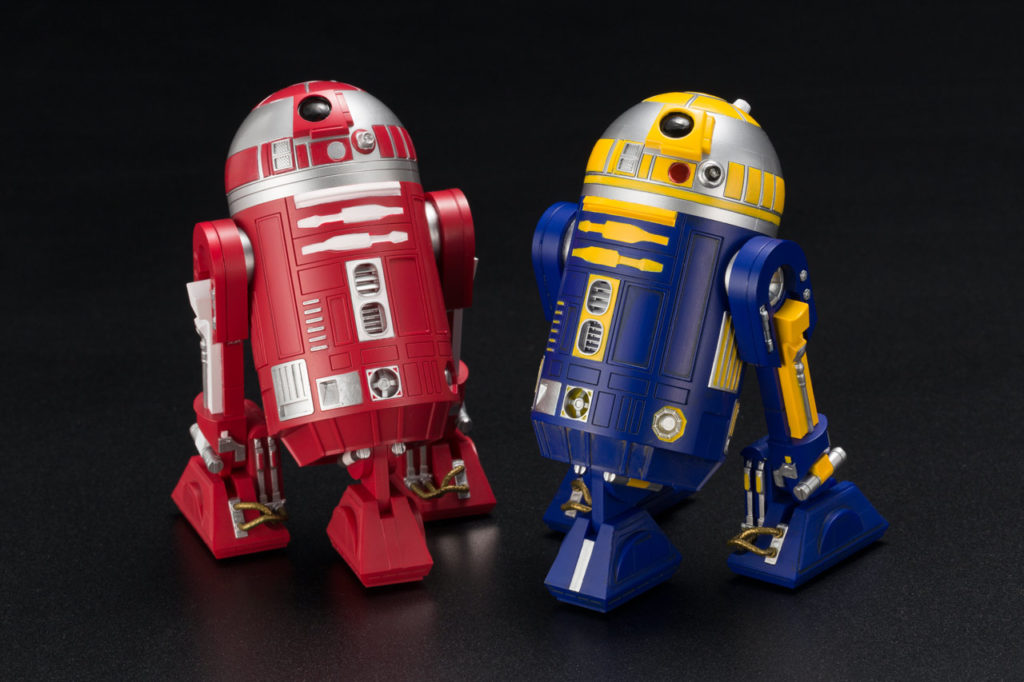 R2-R2 & R2-B1 ARTFX+ statues 2-pack - KOTOBUKIYA EXCLU SWCC R2-r2_10
