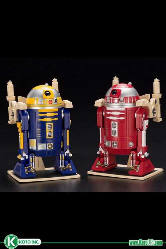 R2-R2 & R2-B1 ARTFX+ statues 2-pack - KOTOBUKIYA EXCLU SWCC R2-r2_11