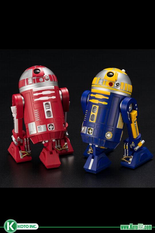 R2-R2 & R2-B1 ARTFX+ statues 2-pack - KOTOBUKIYA EXCLU SWCC R2-r2_13