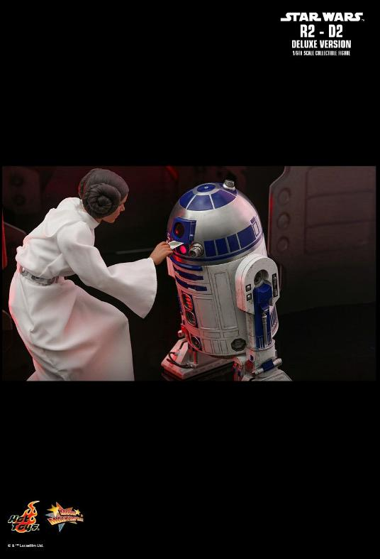 Hot Toys Star Wars - R2-D2 (ROTJ) Sixth Scale Figure R2d2_119