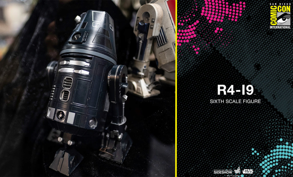 R4-19 Sixth Scale Figure - Hot Toys Star Wars R4i910