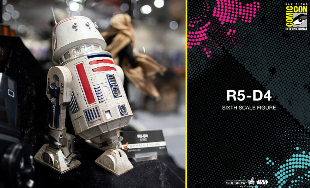 R5-D4 Sixth Scale Figure - Hot Toys Star Wars R5d410
