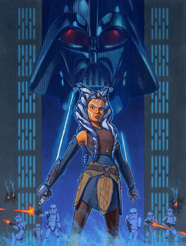 Rebel Resolve - Artwork Star Wars - ACME Archives Rebel_11