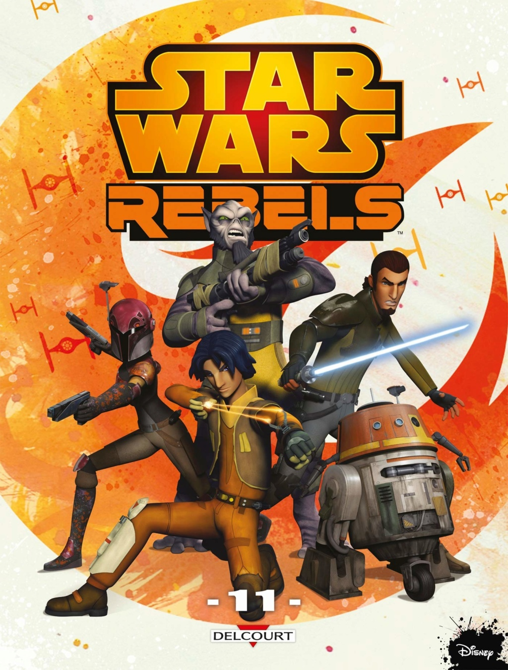 Star Wars Rebels Tome 11 - DELCOURT Rebels11