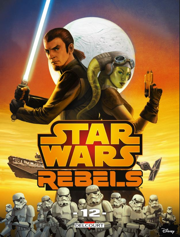 Star Wars Rebels Tome 12 - DELCOURT Rebels13