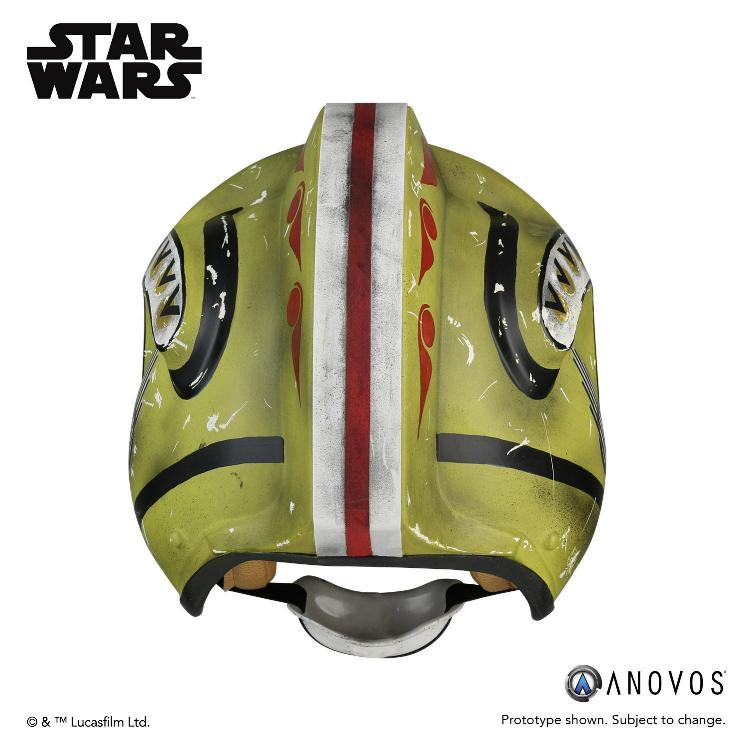 ANOVOS STAR WARS Red Leader Rebel Pilot Helmet Accessory Red_le12