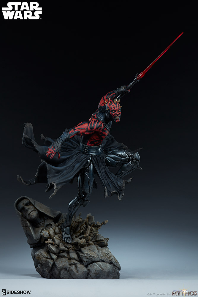 Darth Maul Mythos Statue - Sideshow Collectibles Reveal10