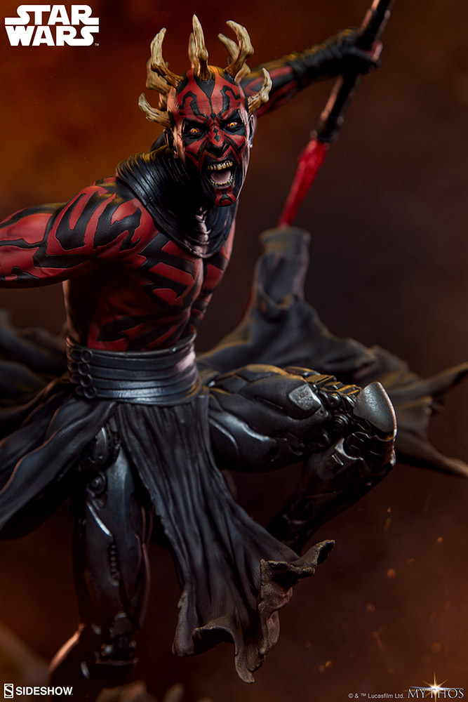 Darth Maul Mythos Statue - Sideshow Collectibles Reveal11