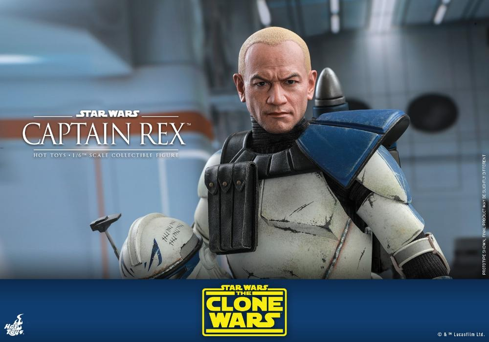 Captain Rex 1/6th scale Star Wars: The Clone Wars - Hot Toys Rex_0210